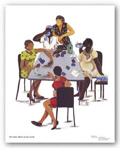 Put alcuni gonne sulle carte da Annie Lee poster con stampa artistica