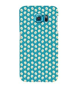 EPICCASE refreshing flowers Mobile Back Case Cover For Samsung Galaxy S6 (Designer Case)