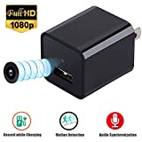 Hidden Camera,1080P HD USB Wall AC Adapter Charger Mini Camera/Nanny Camera Detector(Not included SD card)