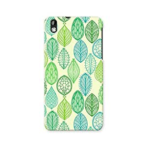 ArtzFolio Vintage Ornate Leaves : HTC Desire 816 Matte Polycarbonate ORIGINAL BRANDED Mobile Cell Phone Protective BACK CASE COVER Protector : BEST DESIGNER Hard Shockproof Scratch-Proof Accessories