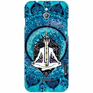 Infocus M2 Back Cover- Silicon Abstract Art Designer Cases