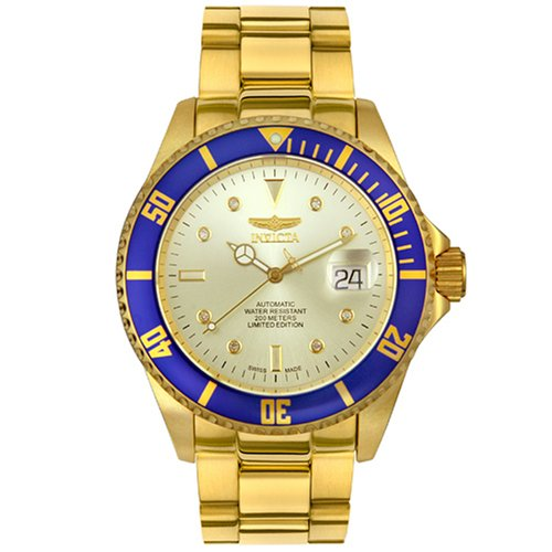 Buy Invicta Men's Pro Diver Collection Limited Edition Diamond Watch #3826