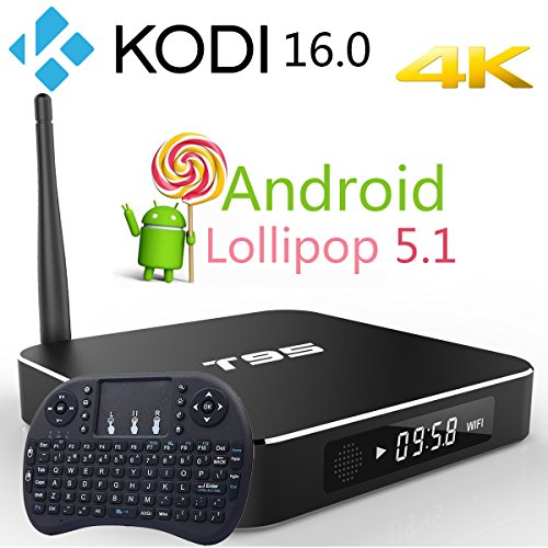 Rominetak-T95-2G8G-Wireless-Mini-Touchpad-Keyboard-Android-51-Lollipop-TV-Box-Quad-Core-4K-UHD-3D-Kodi-160-Fully-Loaded-Rooted-Unlocked-Amlogic-S905-Streaming-Media-Player-WiFi-Bluetooth-DLNA