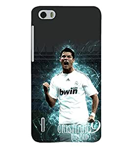 PRINTSHOPPII RONALDO FANS Back Case Cover for Huawei Honor 6