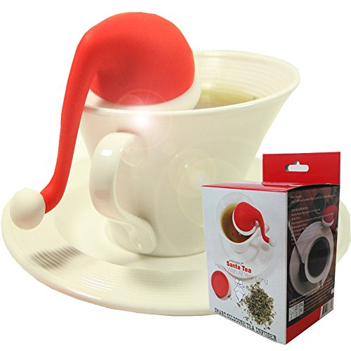 mudra-loose-leaf-tea-infuser-passoire-santa-a-strainer-with-steel-ball-great-christmas-gift-1-pack