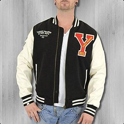 Yakuza Premium College Jacke Flying Riots 1733 schwarz - normal, locker geschnitten