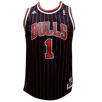 Chicago Bulls Derrick Rose Youth Hardwood Classic Nights HWC Adidas Swingman... by adidas