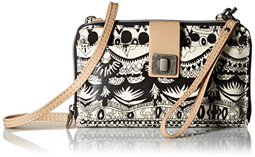sakroots-womens-artist-circle-large-smartphone-crossbody-purse-b-w-one-world