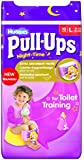 Huggies Pull Ups Nightime Potty Training Pants for Girls - Large (16-23 kg), 10 x 3 Packs (30 Pants)