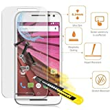 Kaira 2.5 D Curved Edge 9H Hardness Ultra Thin Tempered Glass Screen Protector For Motorola Moto G Turbo Edition