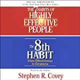 img - for The 7 Habits of Highly Effective People & The 8th Habit (Special 3-Hour Abridgement) book / textbook / text book