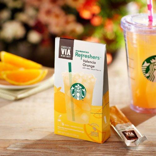 Starbucks Via Valencia Orange Refreshers 2 (5-Packs)