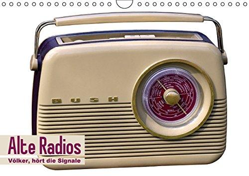 Alte-Radios-Vlker-hrt-die-Signale-Wandkalender-2015-DIN-A4-quer-Die-ersten-Rundfunkempfnger-Monatskalender-14-Seiten