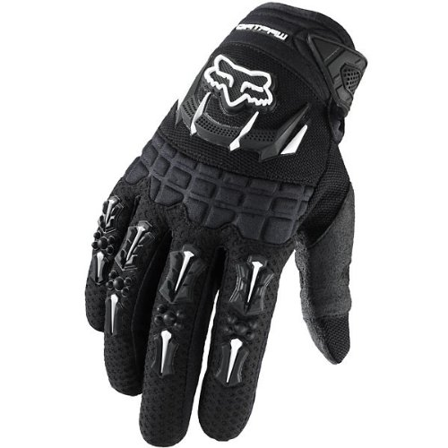 Fox Racing Dirtpaw Youth Boys MotoX/Off-Road/Dirt Bike Motorcycle Gloves - Color: Black, Size: X-Small
