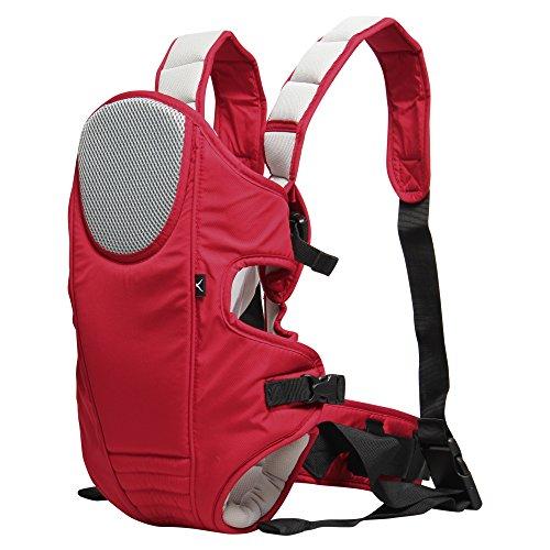 Comparamus veevan sac dos porte b b en polyester pour maman rouge - Sac a dos porte bebe decathlon ...