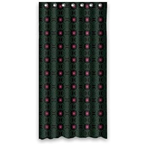 36 X72 Inches Small Funny Dark Green Patterns And Pi
