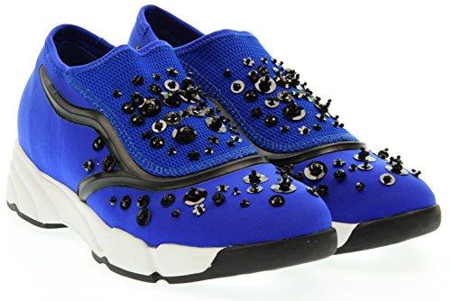 UMA PARKER donna sneaker bassa 708-10 Blu 39 Blu elettrico
