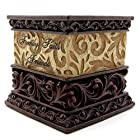 Faith Family Friends Oiled Bronze Candle Holder by Drake Design