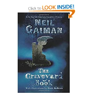 The Graveyard Book by Neil Gaiman and Dave McKean