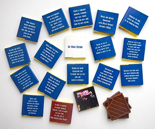 """FUNNY TRUMP CHOCOLATE GIFT⚝ - POLITICAL CHOCOLATE⚝ Sweet future with Donald Trump! Chocolate gift """"Sweet future with Donald Trump"""" is a great gift idea for Christmas and New year Holidays!"""