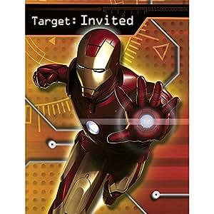 Hallmark Iron Man Invitations w/ Envelopes