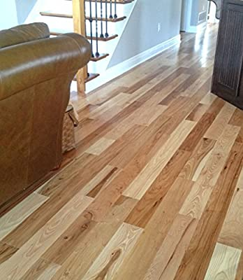 Hickory Hardwood Flooring Solid Prefinished 100 Year Limited Finish Warranty