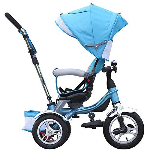 OLizee-Luxury-Shock-Absorption-Baby-Kids-Toddler-3-Wheels-Tricycle-Stroller