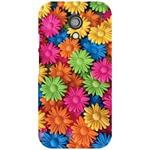 Moto G 2nd Gen Colored Print Matte Finish Phone Cover - Matte Finish Phone Cover