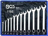 BGS 1195 Maul Ringschlüssel-Satz 12 tlg. SAE