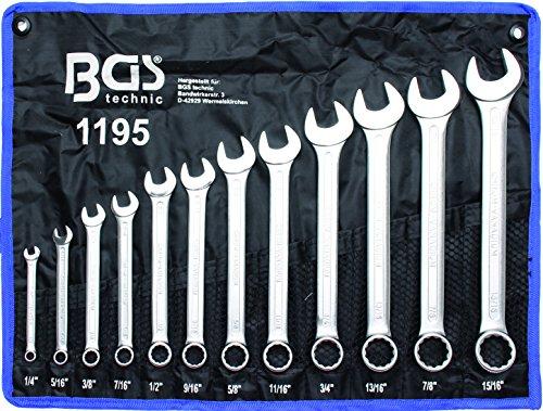 BGS-1195-Maul-Ringschlssel-Satz-12-tlg-SAEZoll-Gren