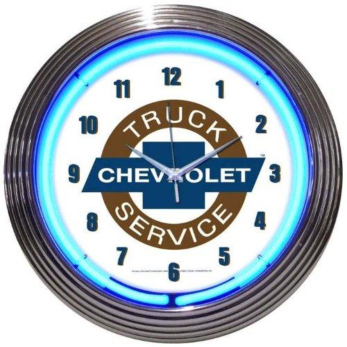 Chevy Truck Neon Clock
