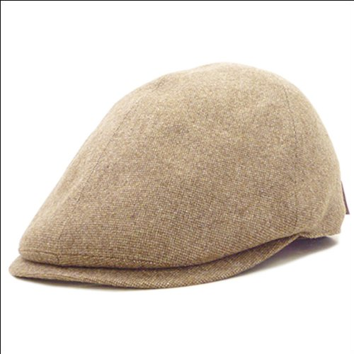 (ボルサリーノ) Borsalino クラシカル ハンチング 【日本製 ブランド ウール ハンチング帽 BX600】 メンズ レディース 男女兼用 (ベージュ)
