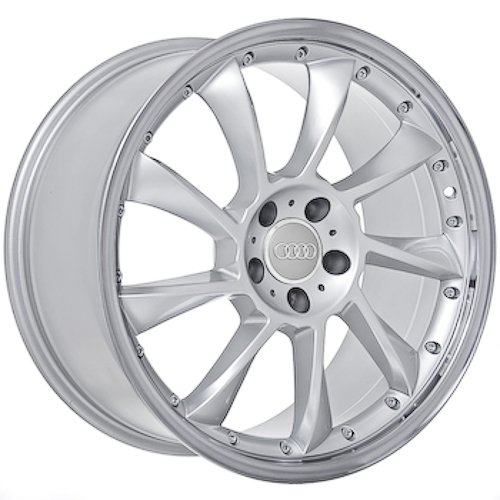 18 Inch Audi Wheels Rims Silver (set of 4)