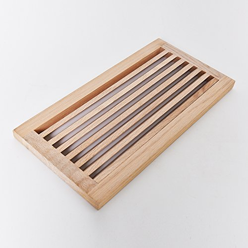 WELLAND® Hardwood Register Cold Air Return Wall Vent Unfinished, 8 inch x 16 inch, White Oak (Wall Air Vent compare prices)