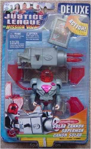 Buy Low Price Mattel Superman (Solar Cannon) from Justice League Mission Vision – Deluxe Figures (B0013OWJP6)