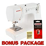 Janome Jem Gold 660 12-Stitch Compact Lightweight Sewing Quilting Machine With FREE BONUS PACKAGE!
