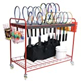 BSN Sports Racquet Storage Cart by BSN