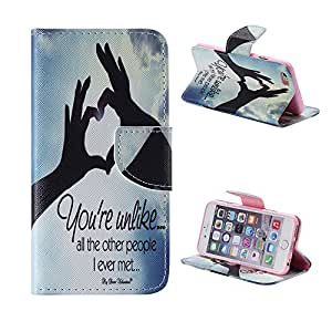 iPhone 6S Plus case iPhone 6/6S Plus wallet case Fashion Design Premium PU Leather Slim Fit Flip Magnet Wallet Stand Shell Cover Case with Card Holders Compatible for Apple iPhone 6/6S Plus