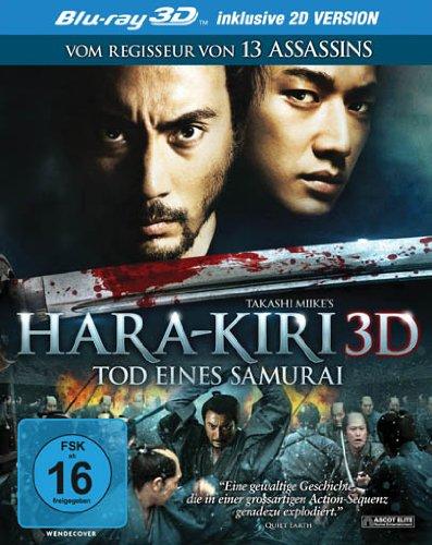 Hara-Kiri [3D Blu-ray inkl. 2D] [Alemania] [Blu-ray]