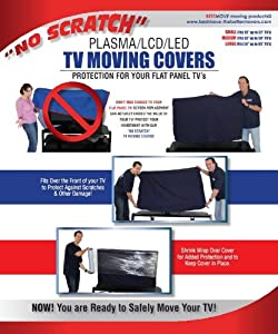 No Scratch Tv Moving Cover (Small-fits 20