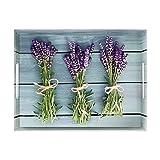 Emsa 513714 Tablett mit Lavendel Dekor