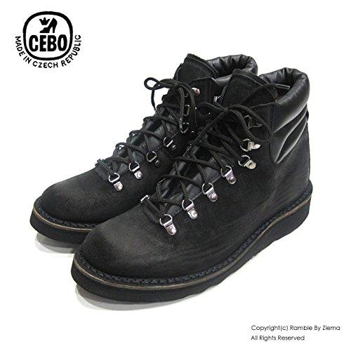 【CEBO セボ】クライミングブーツ CLIMBING BOOTS 【92115B】ブラックスエード 42
