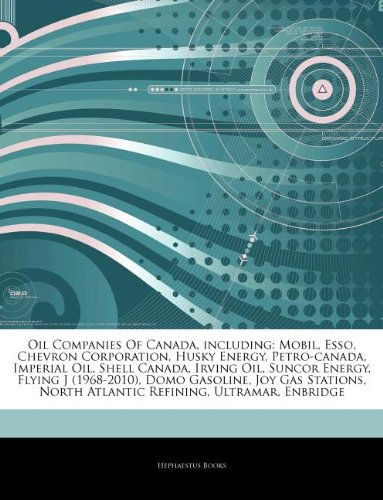 articles-on-oil-companies-of-canada-including-mobil-esso-chevron-corporation-husky-energy-petro-cana