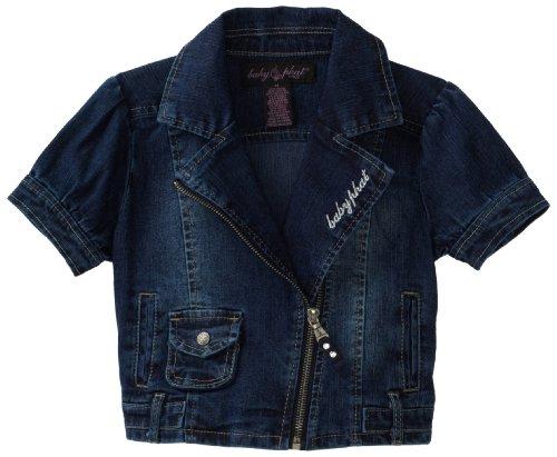 Baby Phat - Kids Girls 2-6x Motorcycle Jacket,