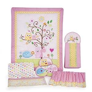 Dena Happi Tree 8 Piece Crib Bedding Set