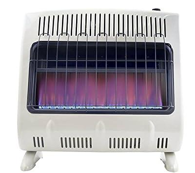 Mr. Heater, Corporation Mr. Heater, 30,000 BTU Vent Free Blue Flame Natural Gas Heater, MHVFB30NGT