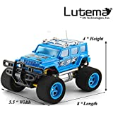 Lutema Cosmic Rocket 4CH Remote Control Truck, Blue
