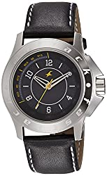 Fastrack Fastrack His and Her Analog Black Dial Mens Watch - 3075SL02