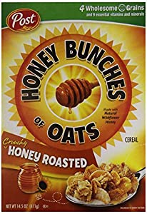 Post Honey Bunches of Oats - Honey Roasted - 14.5 oz