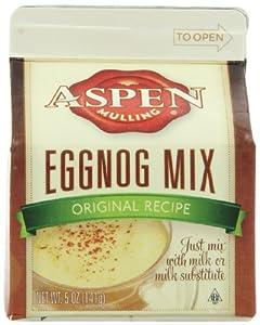 Aspen Mulling Eggnog Mix, Original  5-Ounces Cartons (Pack of 9)
